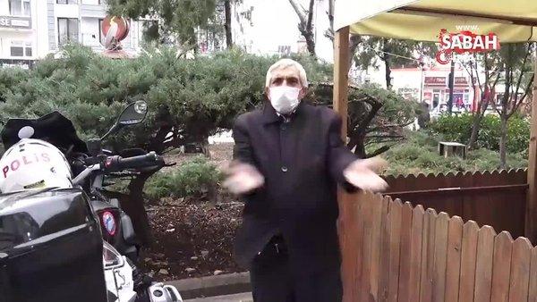 Korona virüs şüphelisi göbek atıp, spor yaptı   Video