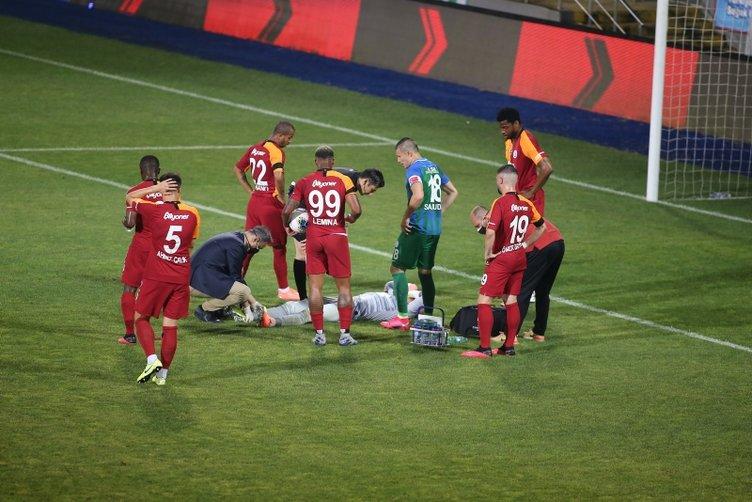 Bacağı kırılan Fernando Muslera'ya destek mesajları yağdı!