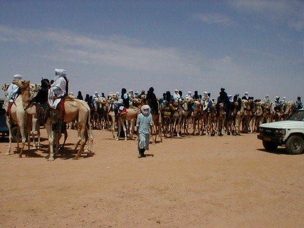 Sahra'nın mavi insanları: Tuaregler