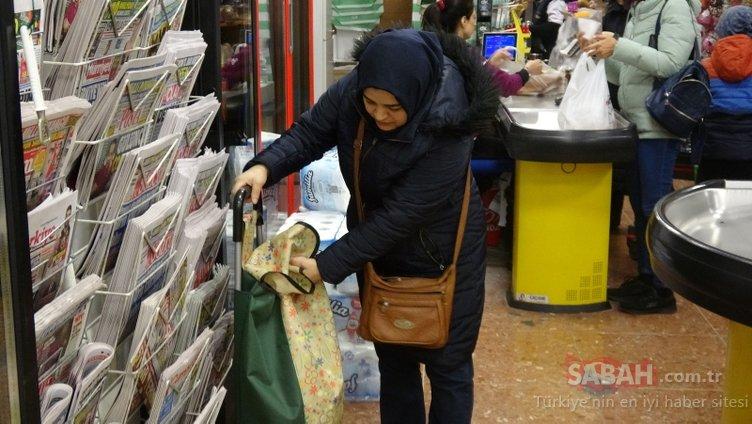 Plastik şişe getirene bez çanta hediye