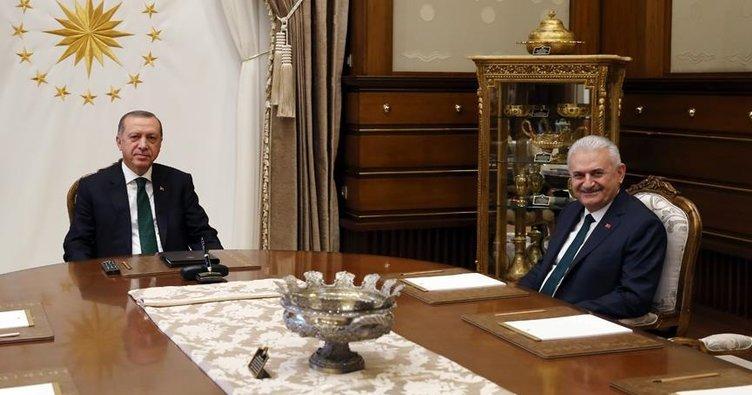 Erdoğan ve Yıldırım arasında 4,5 saatlik görüşme