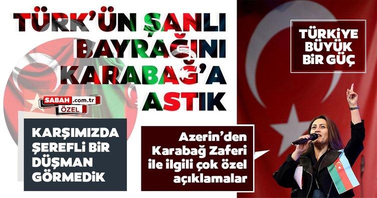 Ünlü sanatçı Azerin'den 'KARABAĞ' çağrısı! Türkiye'deki sanatçılara davet gönderiyorum...