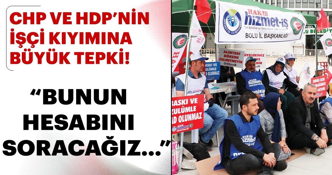 CHP'li belediyelerde işçi kıyımı tam gaz! İşçiye bayramı zehir ettiler..... ile ilgili görsel sonucu