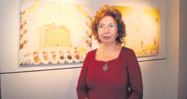 Münire Kalkım 4'üncü kişisel sergisini açtı