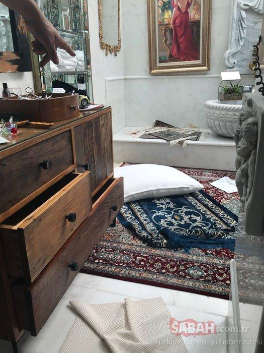 İşte operasyon sonrasında Oktar'ın villasından ilk görüntüler