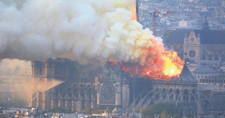 850 yıllık tarih yandı