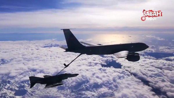 Milli Savunma Bakanlığı'ndan son dakika flaş Doğu Akdeniz paylaşımı! 'F-16, F4-E 2020 jet uçakları...'   Video