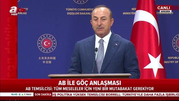Son Dakika Haberi: Dışişleri Bakanı MevlütÇavuşoğlu'dan AB'ye çok sert mesaj