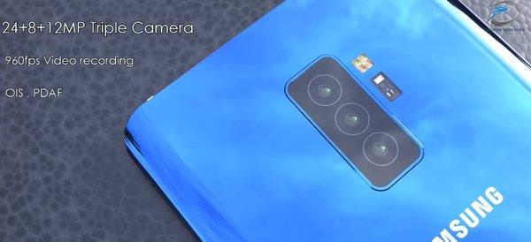 Üç kameralı Samsung Galaxy S10+ karşınızda