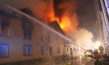 Almanya'da Türklerin de yaşadığı binada yangın: 1 ölü