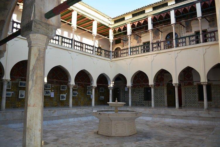 Cezayir'deki Osmanlı mirası Hacı Ahmed Bey Sarayı