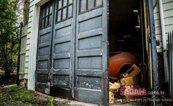 Garajdan çıkana inanamadı! Hayatının şokunu yaşadı