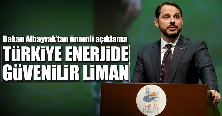 Bakan Albayrak: Türkiye enerjide güvenli liman