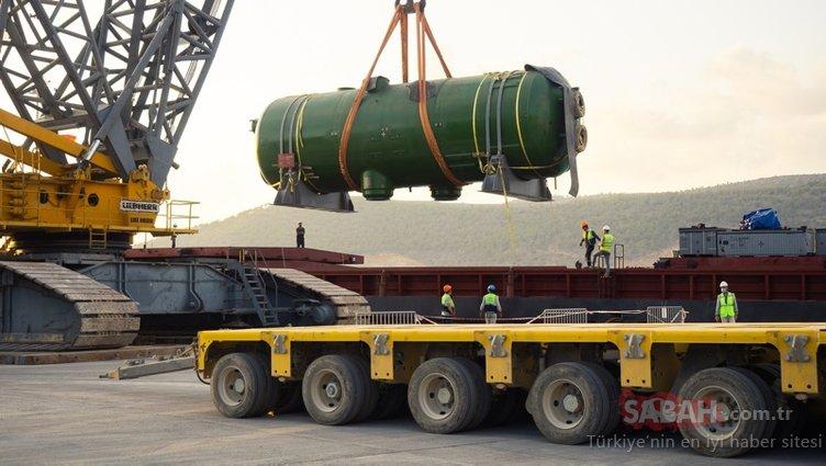 Akkuyu NGS'den yeni haber! Her biri 365 ton ağırlığında...