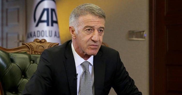 Trabzonspor Başkanı Ahmet Ağaoğlu'ndan Alexander Sörloth ve transfer açıklaması