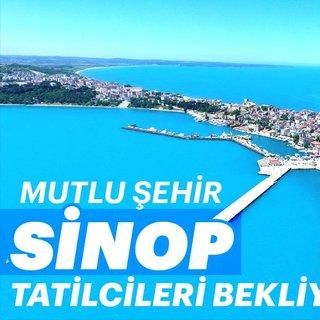 'Mutlu şehir' Sinop, tatilcileri bekliyor