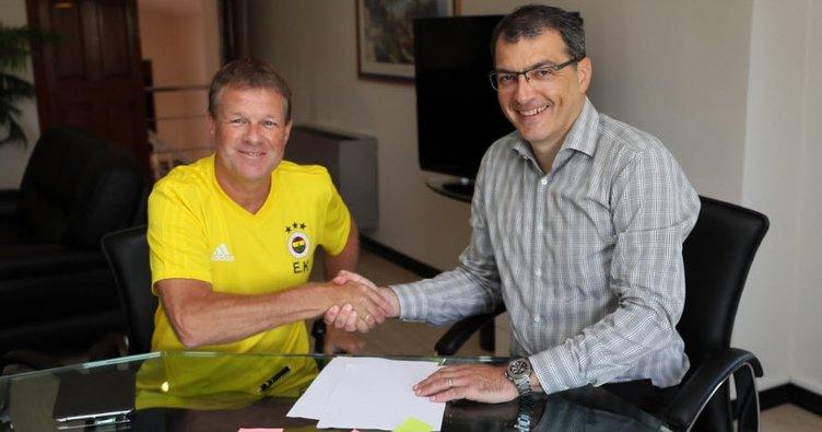 Fenerbahçe'de Erwin Koeman resmen göreve başladı