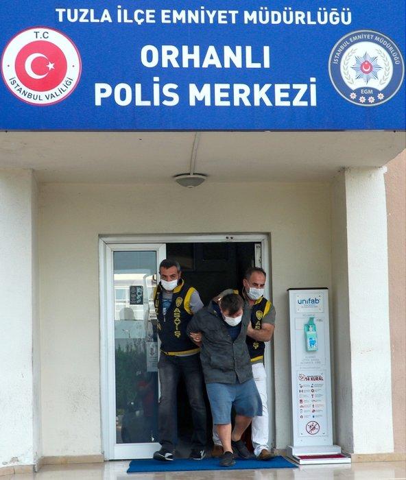 Son dakika... Tuzla'da polisleri tehdit ettiği için gözaltına alınan zanlı adliyeye sevk edildi: İşte ilk ifadesi