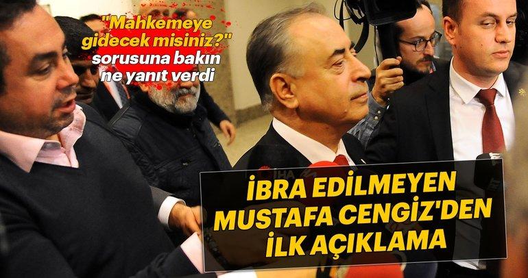 Mali Genel Kurul'da ibra edilmeyen Mustafa Cengiz'den ilk açıklama