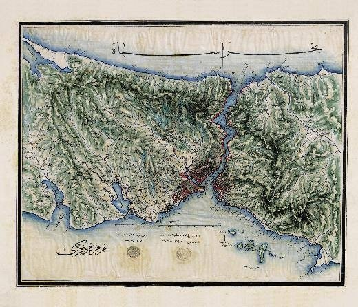 İstanbul'un bilinmeyen haritaları!