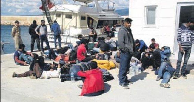 Çiller'in eski yatıyla göçmen kaçakçılığı