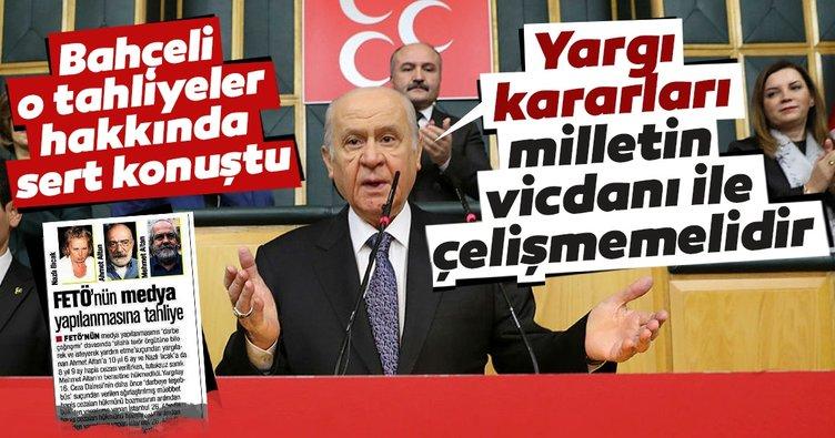 Bahçeli'den Nazlı Ilıcak ve Ahmet Altan'ın tahliye kararına tepki!