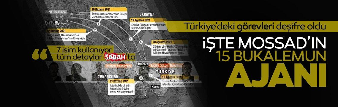 İşte yakalanan MOSSAD casusları ve Türkiye'deki görevleri!