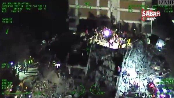 Emniyet Genel Müdürlüğü arama kurtarma çalışmalarına havadan destek veriyor | Video