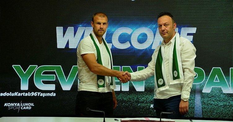 Konyaspor, Yevhen Opanasenko'yu renklerine bağladı