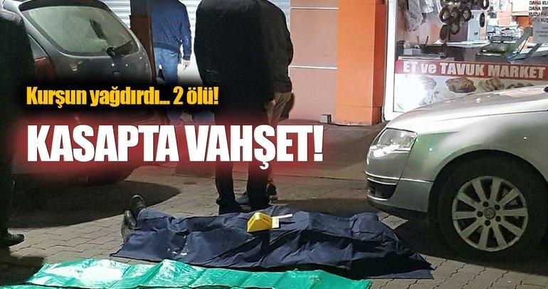 Kasap'ta tartışma kanlı bitti: 2 ölü