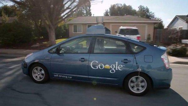 Google'ın akıllı arabası
