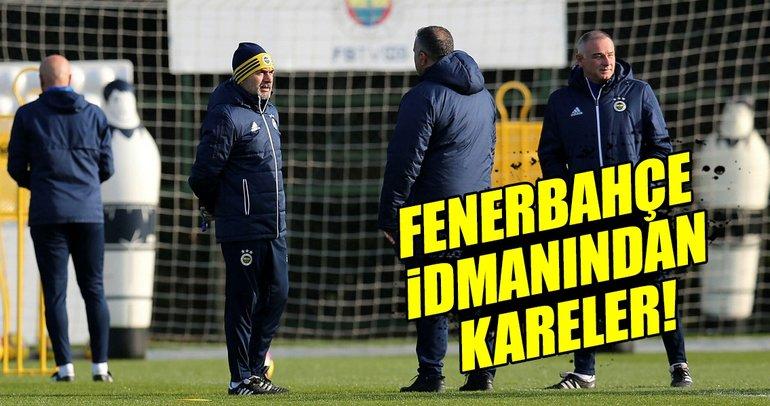 Fenerbahçe idmanından kareler (7/11/2017)