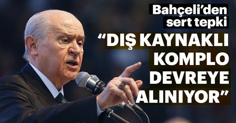 MHP lideri Bahçeli: Ekonomide dış kaynaklı komplo var