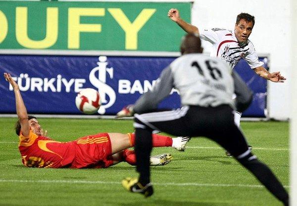 Beşiktaş - Kayserispor maçından kareler