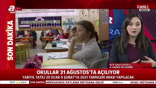 Son dakika: Okullar ne zaman açılacak? 2020-2021 Eğitim Öğretim yılı tarihleri açıklandı | Video