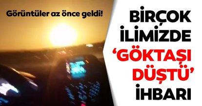Son Dakika Haberi   Dehşet verici görüntüler geldi! Trabzon'da göktaşı düştü iddiası sonrası flaş ihbarlar