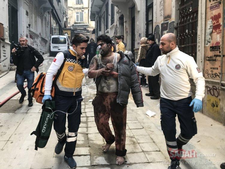 Son dakika haberi: İstanbul Beyoğlu´nda yangın faciası! Ölü ve yaralılar var...