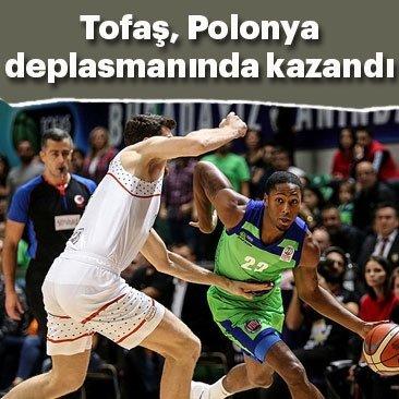 TOFAŞ, Polonya deplasmanında kazandı