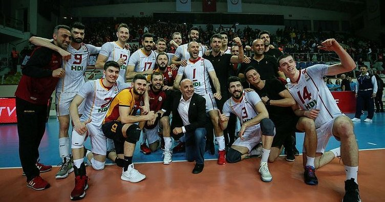 Galatasaray CEV Cup'ta yarı finale çıktı