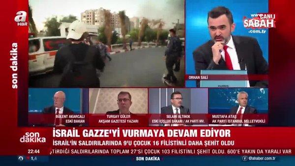 Yaralanan AA muhabirinin hastaneye kaldırılış görüntüleri A Haber'de | Video