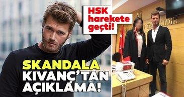 HSK harekete geçti... Kıvanç Tatlıtuğ dan hakim ile çekilen fotoğrafa açıklama geldi!