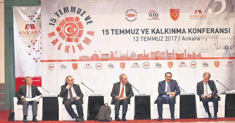Türkiye büyük gücünü 15 Temmuz'da gösterdi