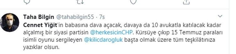 CHP'den şehit babasına gözdağı: 1 otobüs ve 10 avukatla geldiler! Sosyal medyada şehit babasına destek çığ gibi...