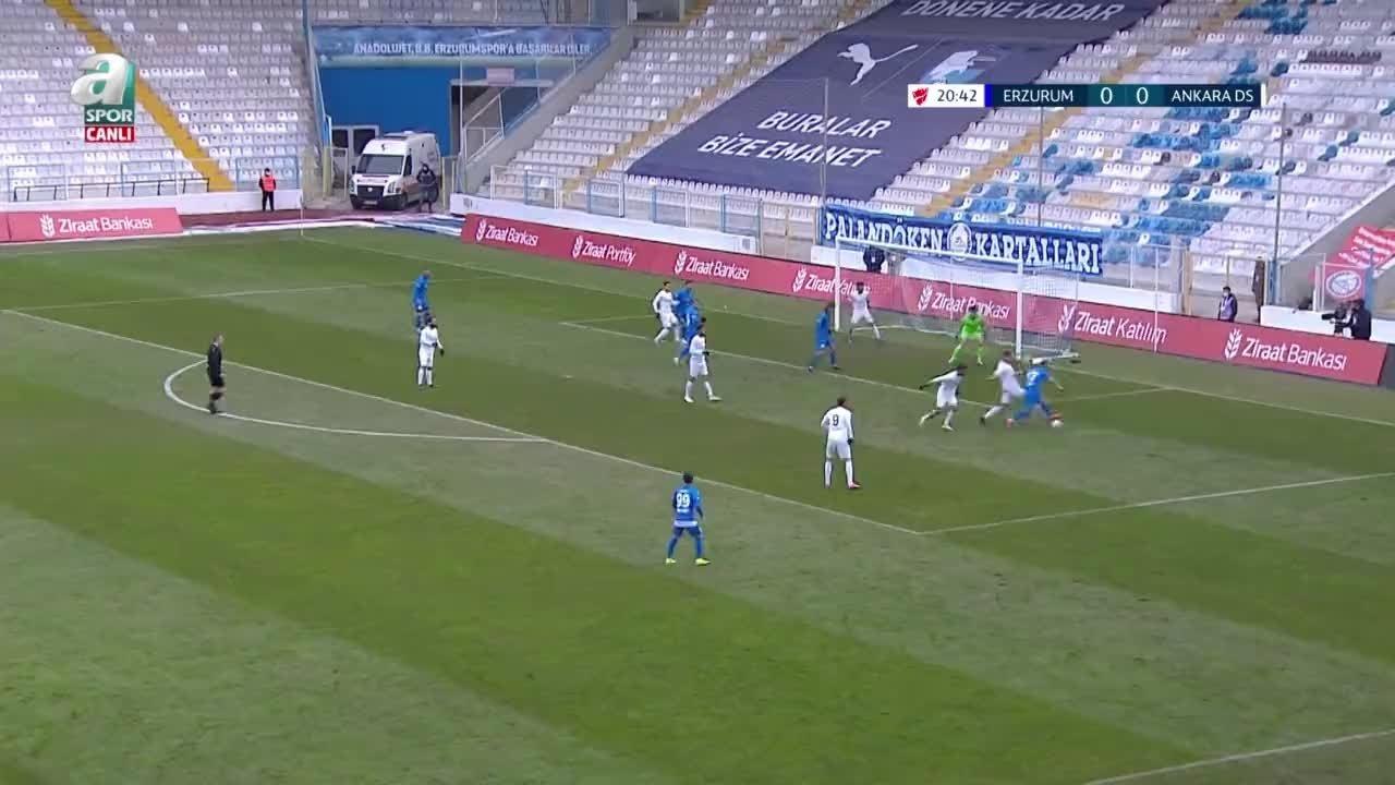 GOL | BB Erzurumspor 1-0 Ankara Demirspor videosunu izle