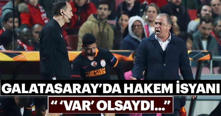 Galatasaray'da hakem isyanı! VAR olsaydı...