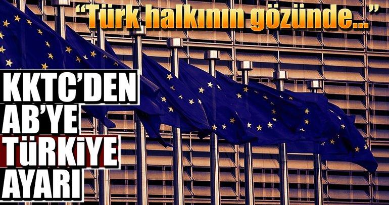 KKTC'den AB'ye Türkiye ayarı