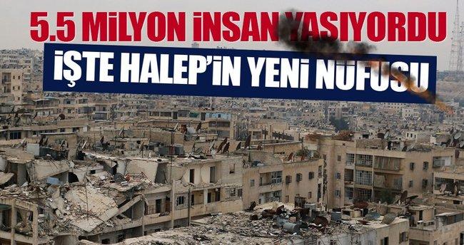 5.5 Milyon nüfuslu Halep'te 350 bin kişi kaldı!