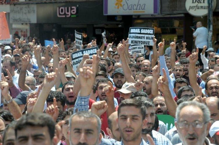 Türkiye Gazze için ayakta