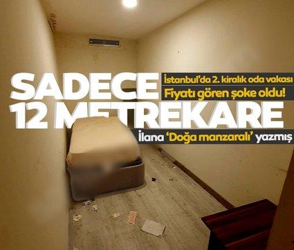 İstanbul'da 2. kiralık oda vakası: İlana 'Doğa manzaralı' yazmış! Odayı da fiyatı da gören şoke oldu!