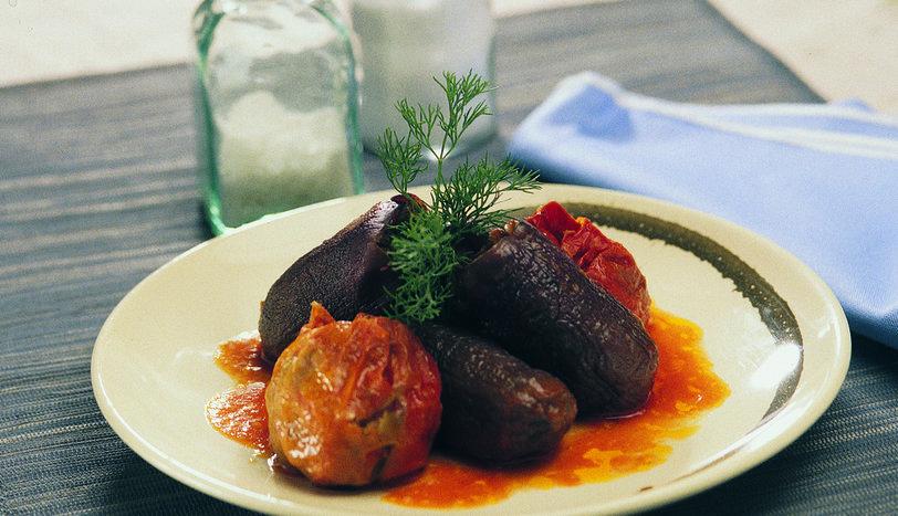 Antep Usulü Kuru Patlıcan ve Biber